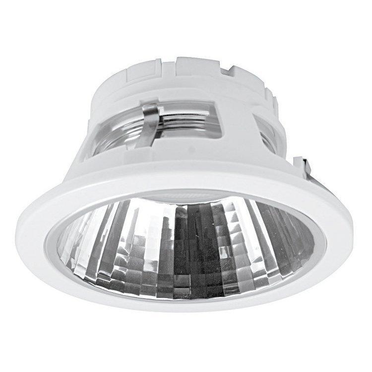 Alasvalo Conxento 13W GX53 Ø 132x65 mm valkoinen ilman lamppua