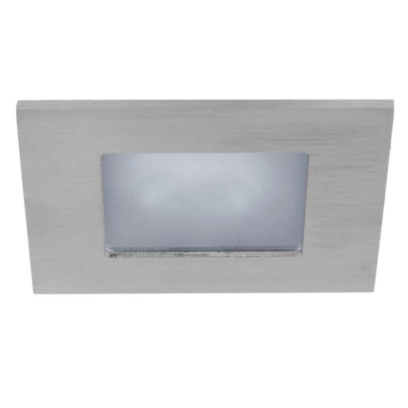Alasvalo Instar Trend Square Opal 12V 50W GU5.3 IP44 30° 105x105x120 mm harjattu teräs