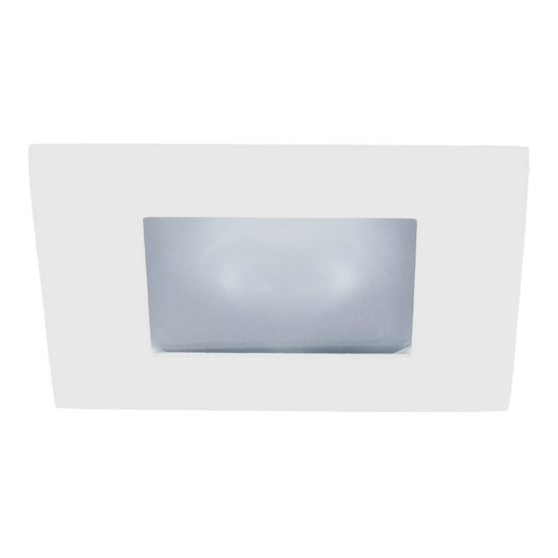 Alasvalo Instar Trend Square Opal 12V 50W GU5.3 IP44 30° 105x105x120 mm valkoinen