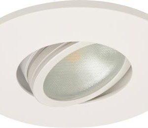 Alasvalo MD-350 Ø 95x28 mm LED 5W 360lm 2700K 500mA matta valkoinen IP21