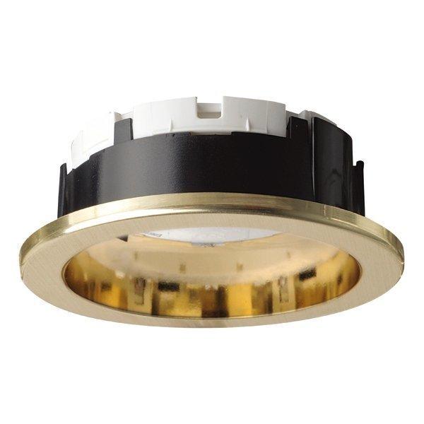 Alasvalo Planex 13W GX53 Ø 104x39 mm kulta ilman lamppua