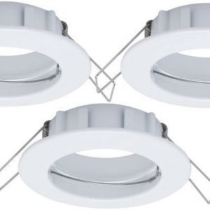 Alasvalojen kehyssetti 2Easy Spot-Set Premium 3 kpl IP44 Ø 79 valkoinen