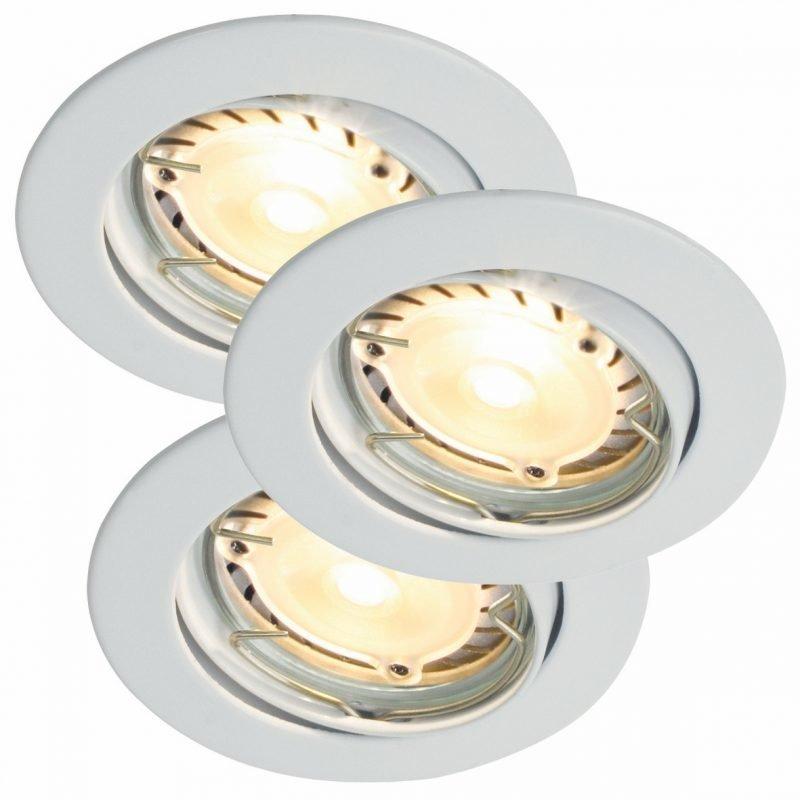 Alasvalosarja Triton 3-Kit LED Hi-Power Ø 90x110 mm 3 kpl valkoinen