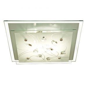 Aneta Demi Plafondi Valkoinen 34x34 Cm