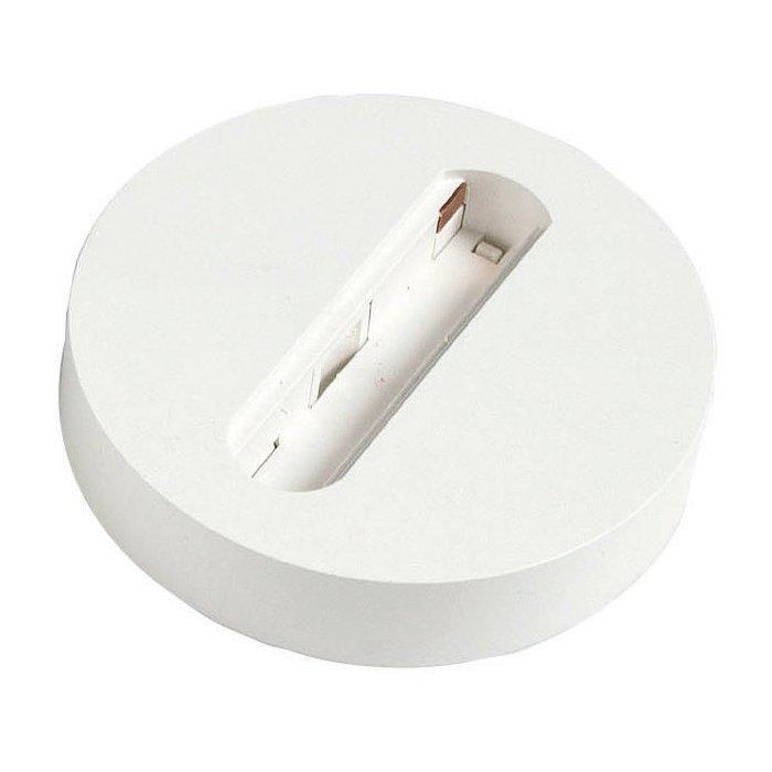 Asennuslevy Monopoint Ø 100x20 mm LS1 valkoinen