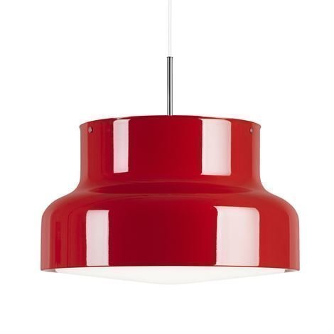 Ateljé Lyktan Bumling Lamppu Iso 600 mm Punainen