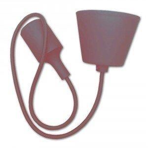 Brown Simple LED Bulb Pendant