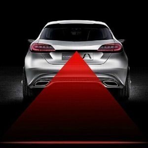 CAR Anti Fog Anti Collision Laser Warning Light Laser LED Car Fog Light Auto Laser Light Suitable For All Models Car Styling