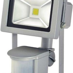 COB LED-valaisin 10 W + PIR IP44