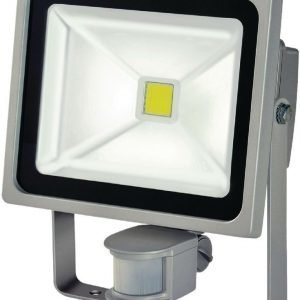 COB LED-valaisin 30 W + PIR IP44