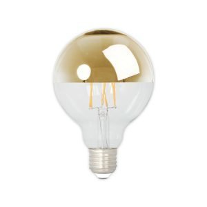 Calex Top Mirror Gold Hehkulamppu D95 E27 4w