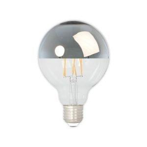 Calex Top Mirror Silver Hehkulamppu D95 E27 4w