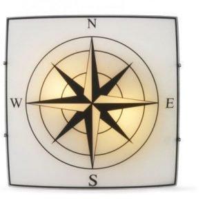 Cottex Compass Flush Ceiling Light