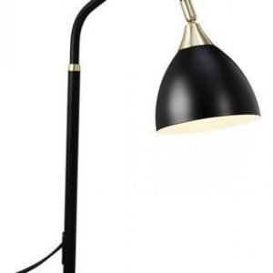 Cottex Läza Table Lamp Black with Brass details