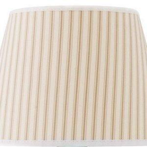 Cottex Lampunvarjostin raidallinen Beige