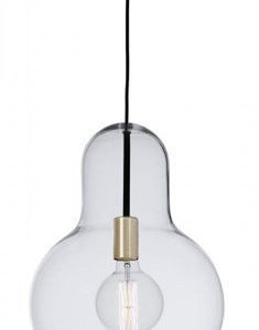 Cottex Living Ceiling Lamp Clear Lasis Brass