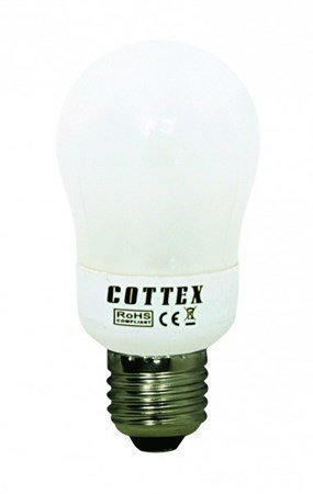 Cottex normaali matalaenergia E27 9W