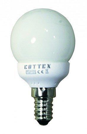 Cottex pyöreä matalaenergia E14 3W