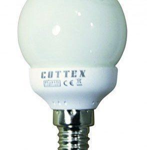 Cottex pyöreä matalaenergia E14 9W
