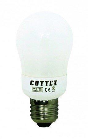 Cottex pyöreä matalaenergia E27 5W
