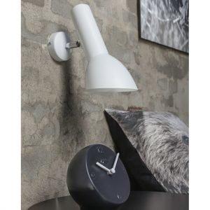 Cph Lighting Oblique Seinävalaisin Kiiltävä Valkoinen