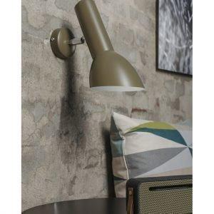 Cph Lighting Oblique Seinävalaisin Oliivin Vihreä