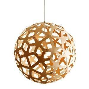 David Trubridge Coral Bamboo Riippuvalaisin Ø40