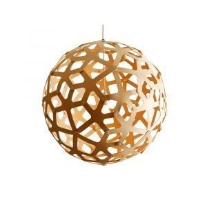 David Trubridge Coral Riippuvalaisin Bamboo Ø120