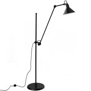 Dcw Éditions Lampe Gras 215 Lattiavalaisin Kartio Varjostin Musta
