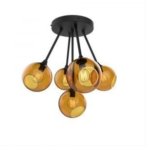 Design By Us Ballroom Molecule Riippuvalaisin Black / Amber