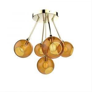Design By Us Ballroom Molecule Riippuvalaisin Brass / Amber