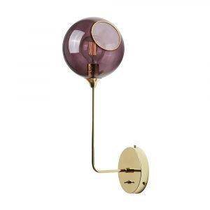 Design By Us Ballroom The Wall Seinävalaisin 57cm Purple