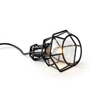 Design House Stockholm Work Lamp Kattovalaisin Musta