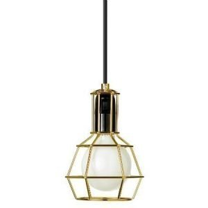 Design House Stockholm Work Lamp valaisin kulta