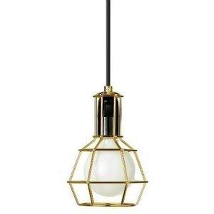 Design House Stockholm Work Lamp valaisin kulta