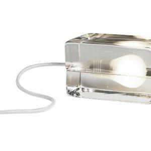 Design House Stockholm suuri Block lamppu valkoinen johto
