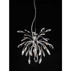 Design by Grönlund Copenhagen kristallikattovalaisin 54 cm