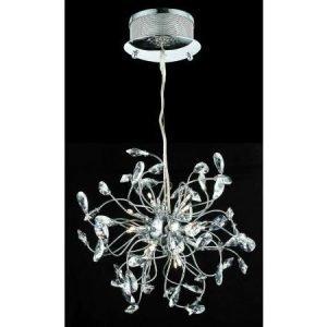 Design by Grönlund Foggia LED kristallikruunu 60 cm