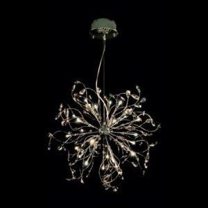 Design by Grönlund Foggia kristallikruunu 60 cm kullattu
