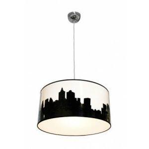 Design by Grönlund Philadelphia City kattovalaisin mustavalkoinen 50 cm