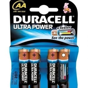 Duracell Ultra Power Aa 1.5 V Paristo 4 Kpl