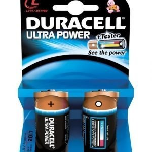 Duracell Ultra Power C 1.5 V Paristo 2 Kpl