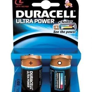 Duracell Ultra Power C 1.5 V Paristo 2 Kpl