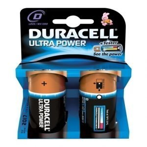 Duracell Ultra Power D 1.5 V Paristo 2 Kpl