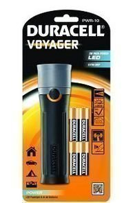 Duracell Voyager taskulamppu 3W high power LED
