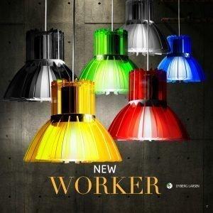 Dyberg Larsen New Worker Riippuvalaisin Neonvihreä