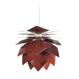 Dyberg Larsen Pineapple Medium Riippuvalaisin Tumman Punainen