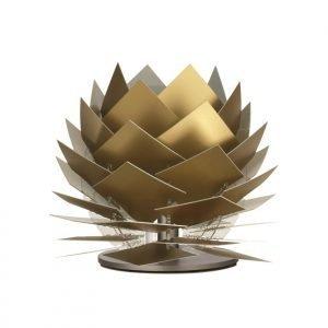Dyberg Larsen Pineapple Xs Led Matala Pöytävalaisin Kulta Look