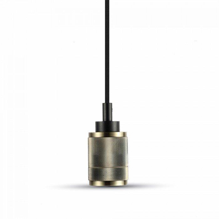 E27 Bronze Aluminum Lamp Holder Model B