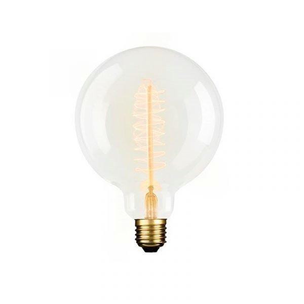 E3light Lamppu 40w 160lm Globe Ø125 Vintage Himmennettävissä E27